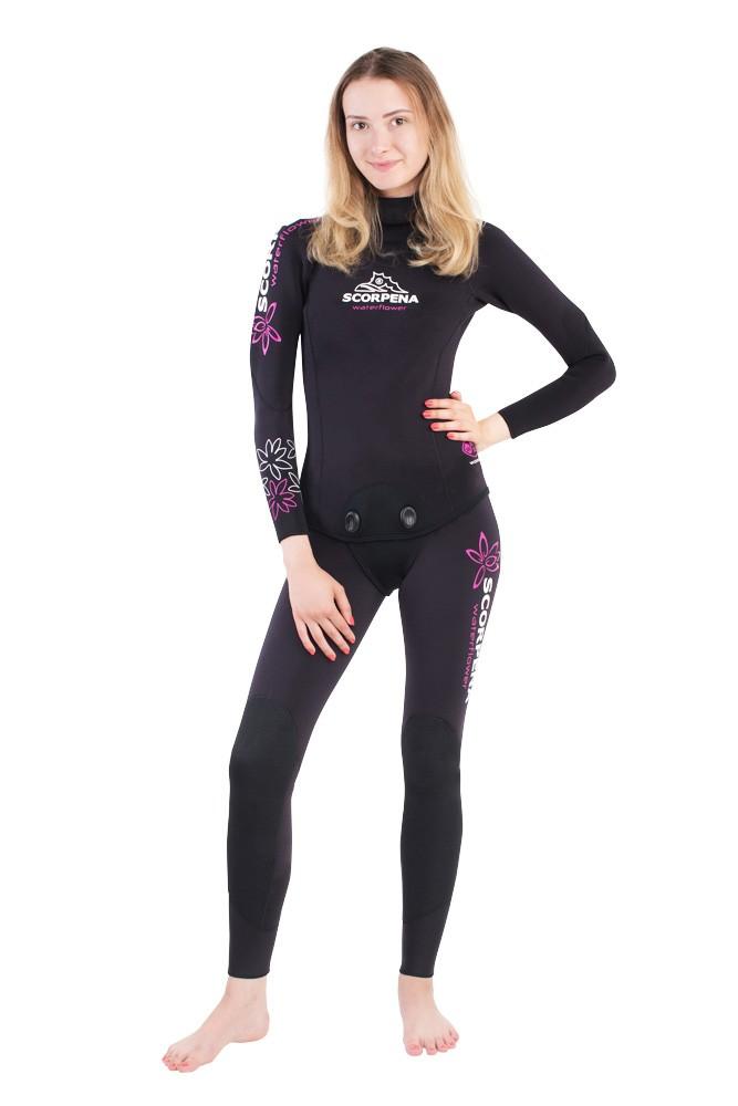 женские гидрокостюмы для фридайвинга в холодной воде scorpena w