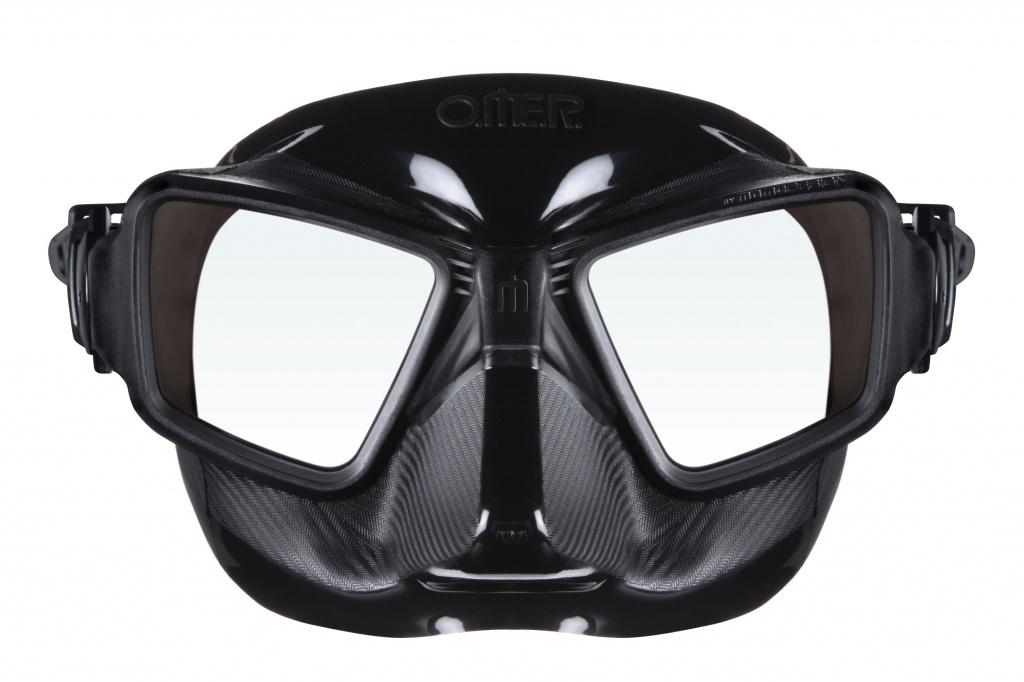 маска для фридайвинга подводной охоты omer zero 3